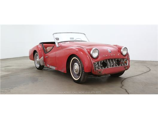 1961 Triumph TR3 for sale in Los Angeles, California 90063
