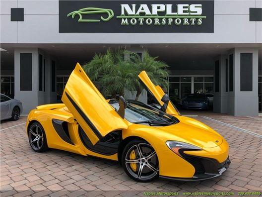 2016 McLaren 650S Spider for sale in Naples, Florida 34104