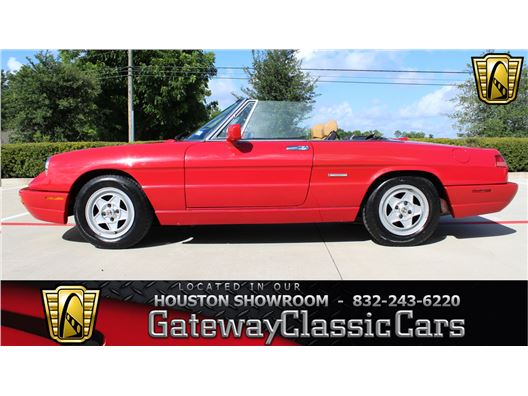 1991 Alfa Romeo Spider for sale in Houston, Texas 77090