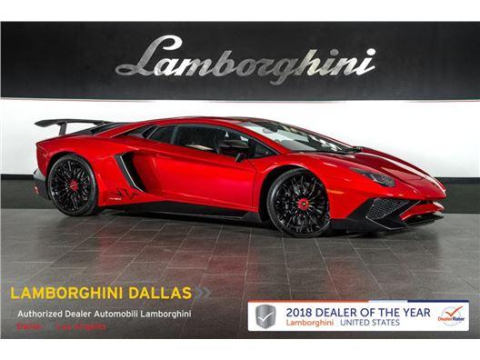 2016 Lamborghini Aventador SV for sale in Richardson, Texas 75080