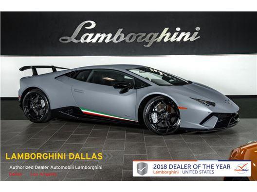 2018 Lamborghini Huracan Performante for sale in Richardson, Texas 75080