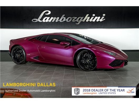 2016 Lamborghini Huracan LP610-4 for sale in Richardson, Texas 75080