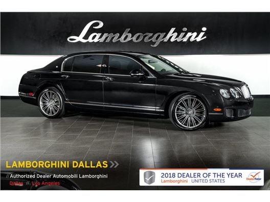 2012 Bentley Continental Flying Spur Speed for sale in Richardson, Texas 75080