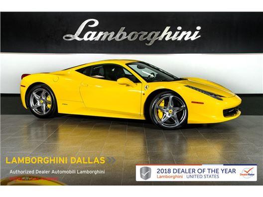 2012 Ferrari 458 Italia for sale in Richardson, Texas 75080