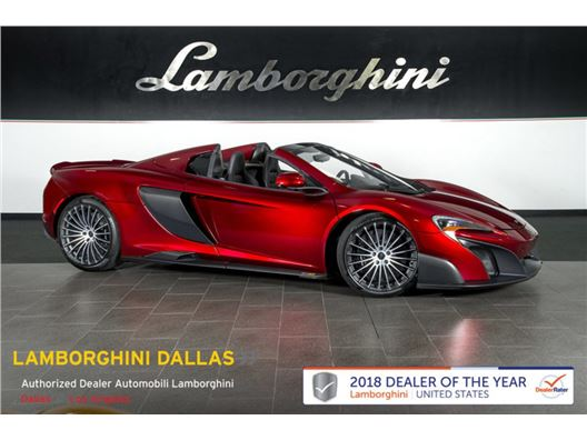 2016 McLaren 675 LT for sale in Richardson, Texas 75080