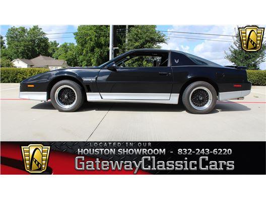 1987 Pontiac Firebird for sale in Houston, Texas 77090