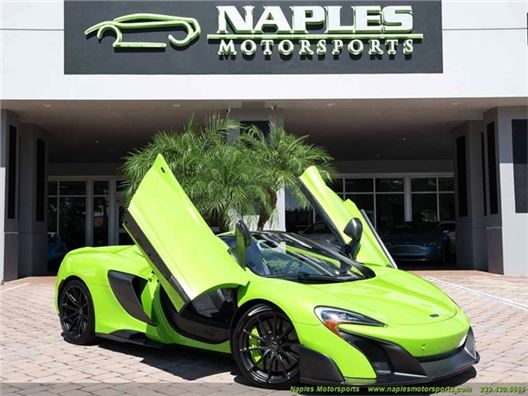 2016 McLaren 675LT Spider for sale in Naples, Florida 34104