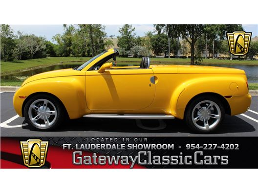 2004 Chevrolet SSR for sale in Coral Springs, Florida 33065