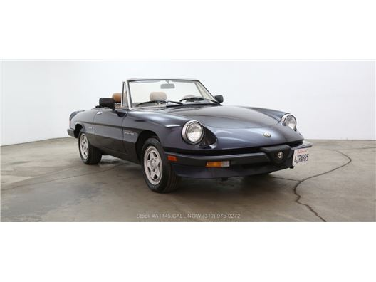 1989 Alfa Romeo Spider Veloce for sale in Los Angeles, California 90063