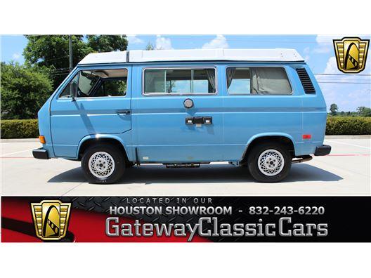 1982 Volkswagen Vanagon Camper for sale in Houston, Texas 77090