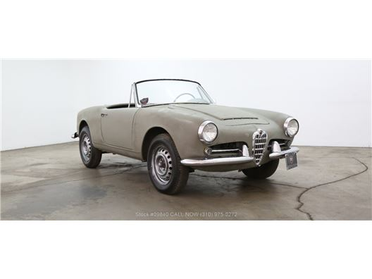 1962 Alfa Romeo Giulietta Spider for sale in Los Angeles, California 90063