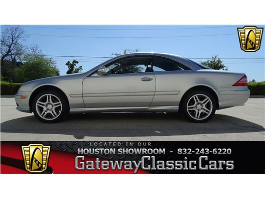 2006 Mercedes-Benz CL500 for sale in Houston, Texas 77090