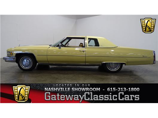 1975 Cadillac Coupe deVille for sale in La Vergne