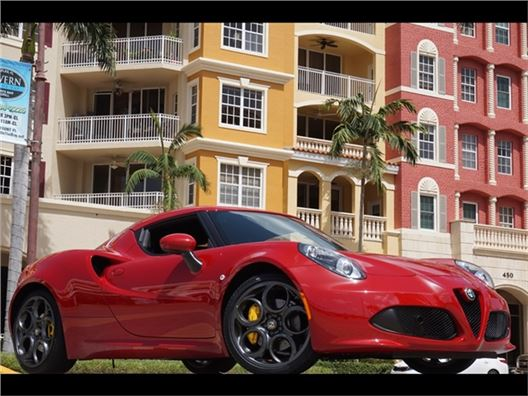 2015 Alfa Romeo 4C Coupe for sale in Naples, Florida 34104