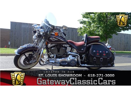 1998 Harley-Davidson FLSTS for sale in OFallon, Illinois 62269
