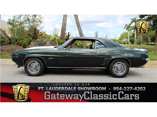 1969 Chevrolet Camaro for sale in Coral Springs, Florida 33065