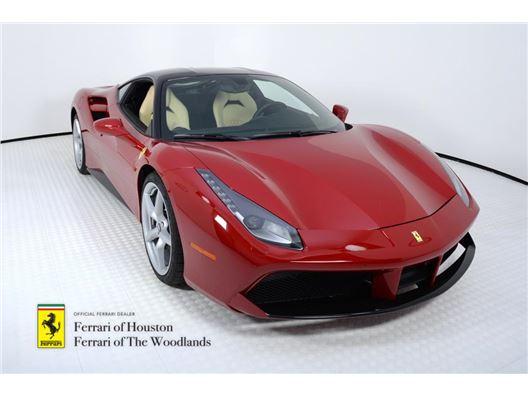 2017 Ferrari 488 GTB for sale in Houston, Texas 77057