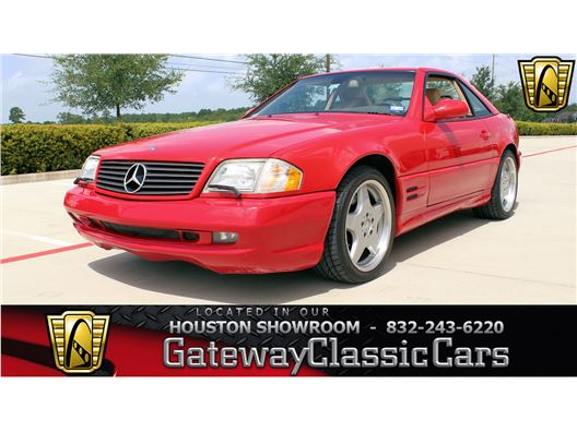 2001 Mercedes-Benz SL500 for sale in Houston, Texas 77090