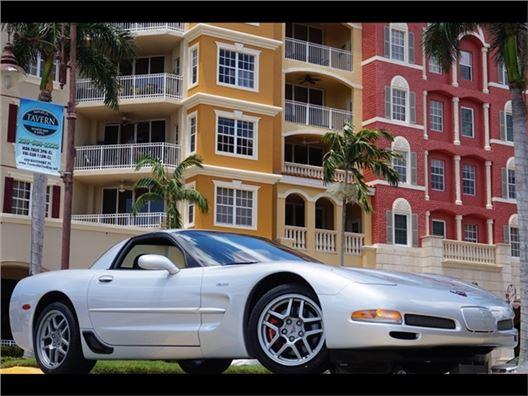 2002 Chevrolet Corvette Z06 for sale in Naples, Florida 34104