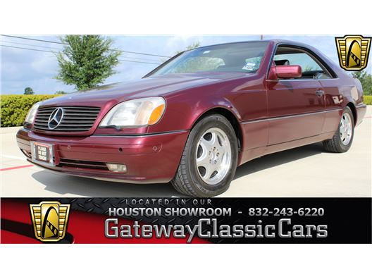 1997 Mercedes-Benz S500 for sale in Houston, Texas 77090