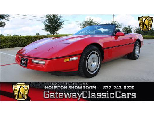 1986 Chevrolet Corvette for sale in Houston, Texas 77090