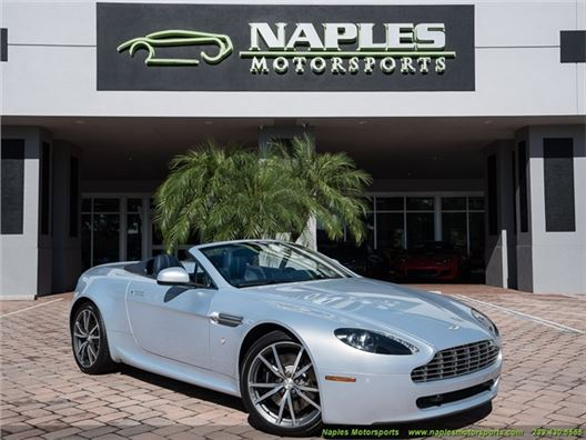 2010 Aston Martin Vantage Roadster for sale in Naples, Florida 34104