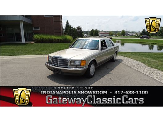 1987 Mercedes-Benz 420SEL for sale in Indianapolis, Indiana 46268
