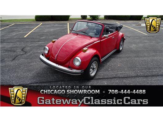 1975 Volkswagen Super Beetle for sale in Crete, Illinois 60417