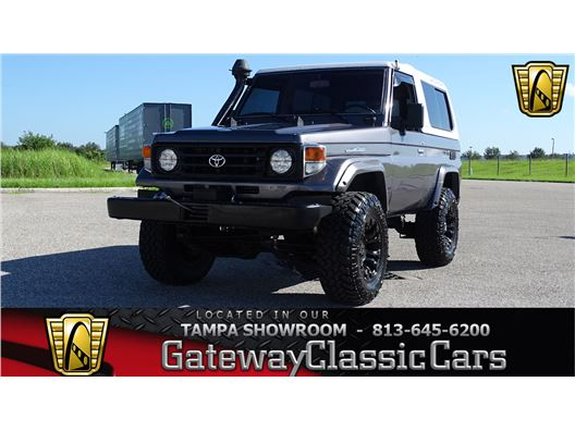 1987 Toyota Land Cruiser for sale in Ruskin, Florida 33570