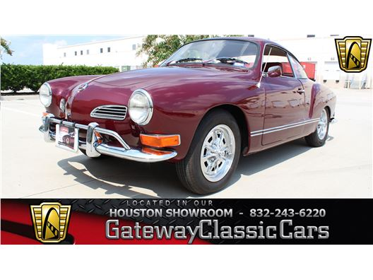 1971 Volkswagen Karmann Ghia for sale in Houston, Texas 77090