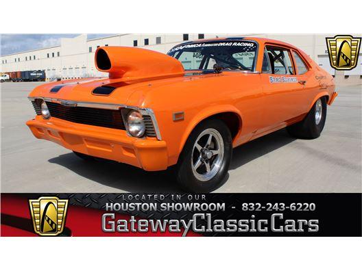 1969 Chevrolet Nova for sale in Houston, Texas 77090