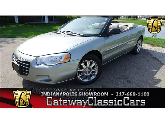 2004 Chrysler Sebring for sale in Indianapolis, Indiana 46268