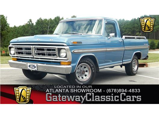 1972 Ford Styleside for sale in Alpharetta, Georgia 30005