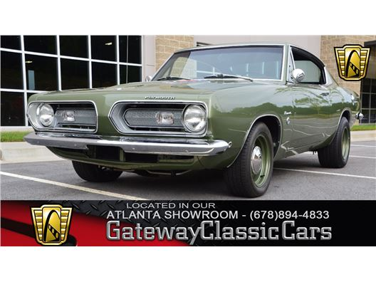 1968 Plymouth Barracuda for sale in Alpharetta, Georgia 30005