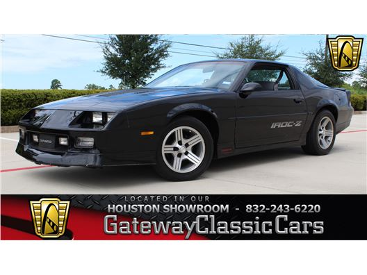 1988 Chevrolet Camaro for sale in Houston, Texas 77090