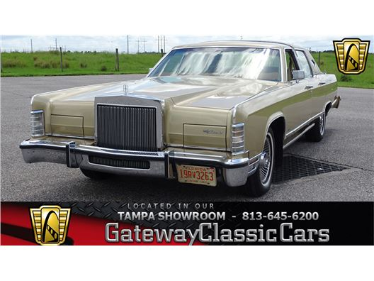 1979 Lincoln Town Car for sale in Ruskin, Florida 33570