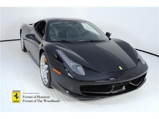 2011 Ferrari 458 Italia for sale in Houston, Texas 77057