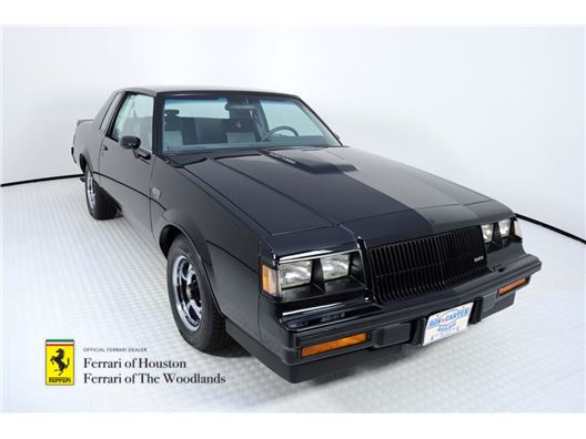 1987 Buick Regal Grand National for sale in Houston, Texas 77057