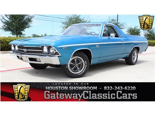 1969 Chevrolet El Camino SS for sale in Houston, Texas 77090