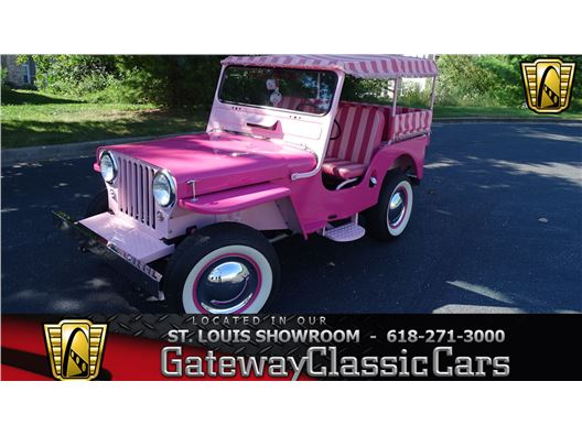 1947 Willys Surrey Gala Jeep for sale in OFallon, Illinois 62269