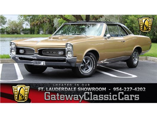 1967 Pontiac GTO for sale in Coral Springs, Florida 33065