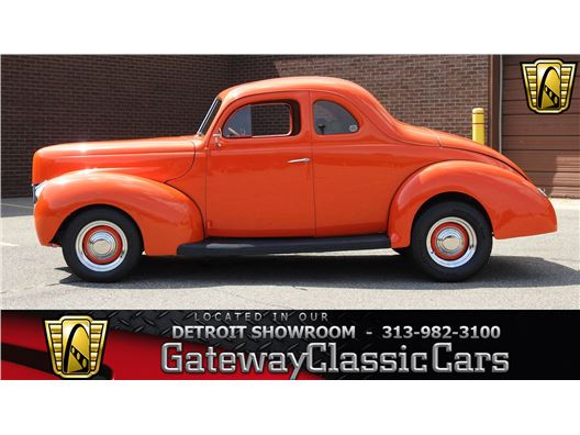 1940 Ford Deluxe for sale in Dearborn, Michigan 48120