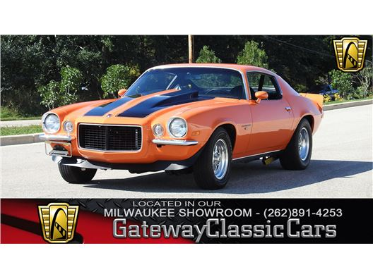 1972 Chevrolet Camaro for sale in Kenosha, Wisconsin 53144