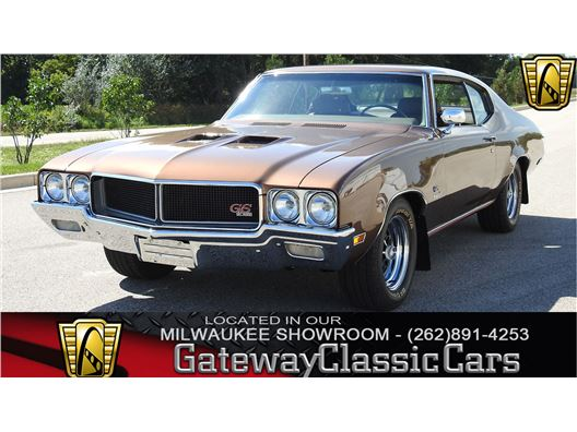 1970 Buick GS for sale in Kenosha, Wisconsin 53144