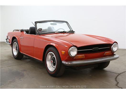 1971 Triumph TR6 for sale in Los Angeles, California 90063