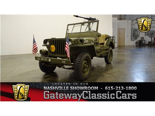 1945 Jeep Willys for sale in La Vergne