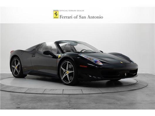 2014 Ferrari 458 Spider for sale in San Antonio, Texas 78257