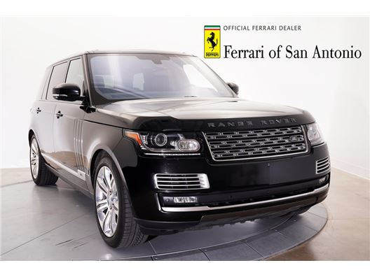 2016 Land Rover Range Rover for sale in San Antonio, Texas 78257