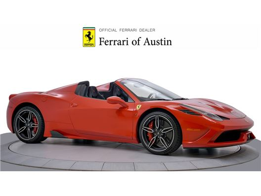 2015 Ferrari 458 Speciale for sale in San Antonio, Texas 78257