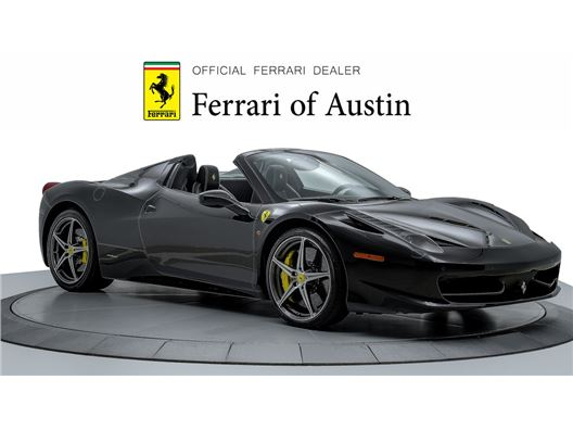2015 Ferrari 458 Spider for sale in San Antonio, Texas 78257